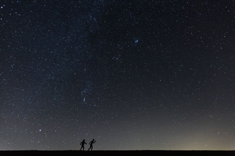 Nachtfotografie op het wad