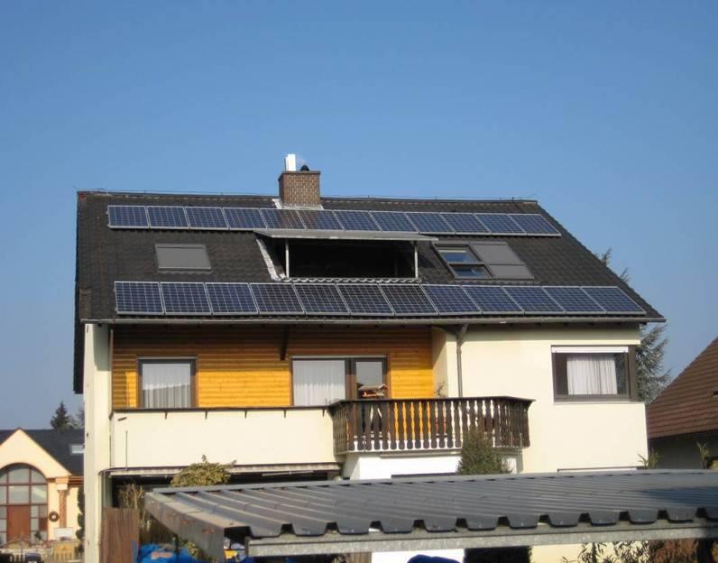 Maxdorf, PV - Anlage (5,04 kWp)