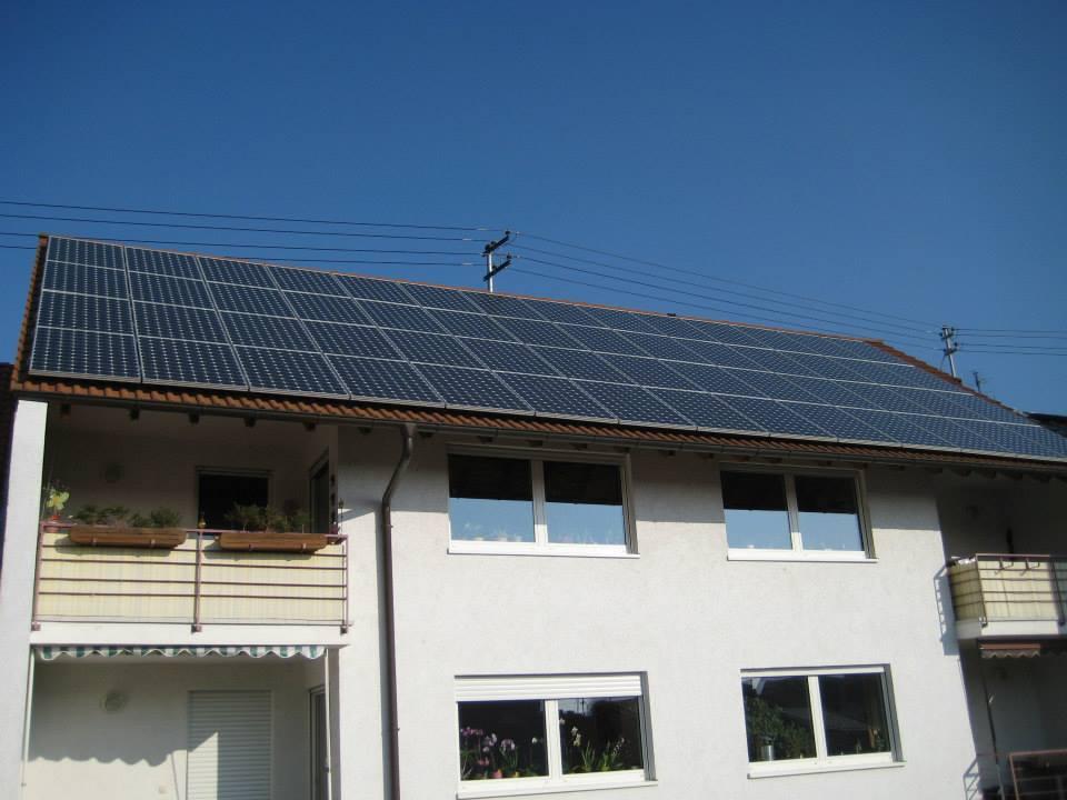 Ludwigshafen, PV - Anlage (12,6 kWp)