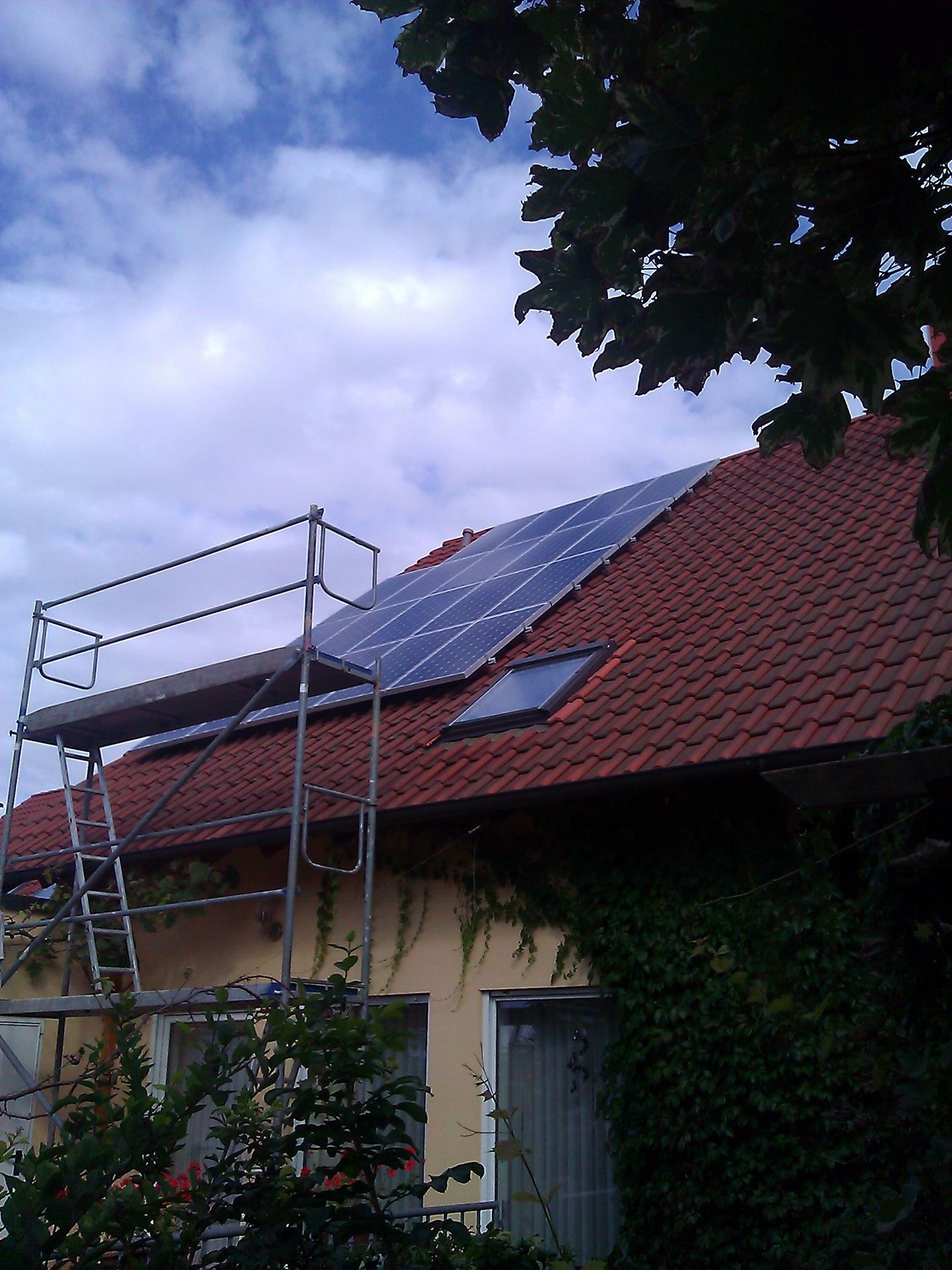Worms, PV - Anlage (15,77 kWp)