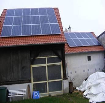 Hockenheim, PV - Anlage (12,69 kWp)