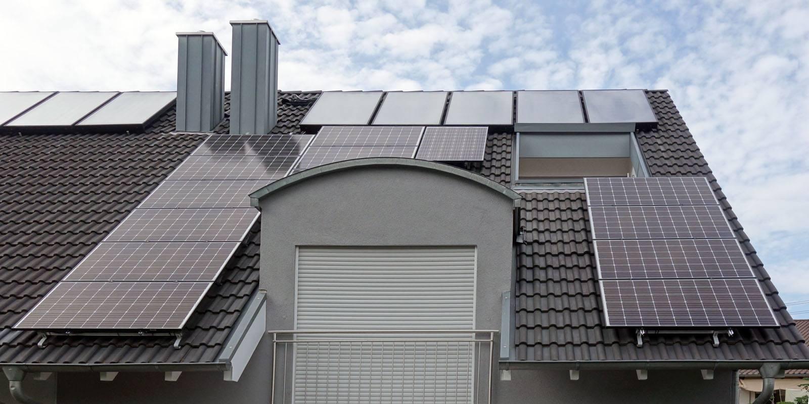 Walldorf, PV - Anlage (4,2 kWp) mit Wallbox mit 22 kW, KEBA KeContact P30 c-series mit Smartfox Energiemanager