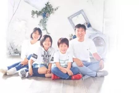 家族写真 カジュアル