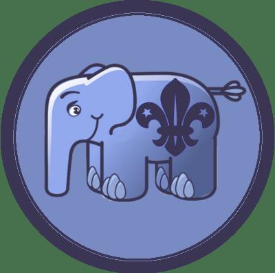PHP Scout Membership Badge
