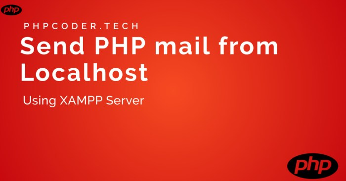 Send Mail From Localhost in PHP Using XAMPP