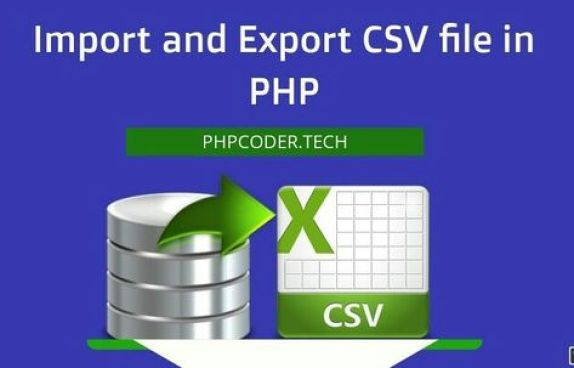 Import and Export CSV file in PHP