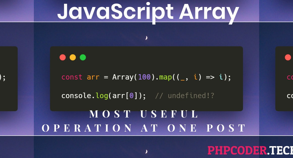 7 Most Useful JavaScript Array Functions