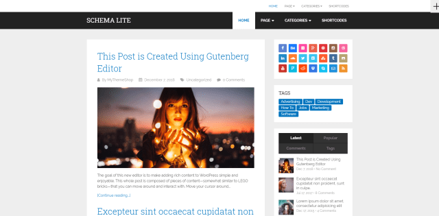 5 Free WP Theme for a Coding Blog
