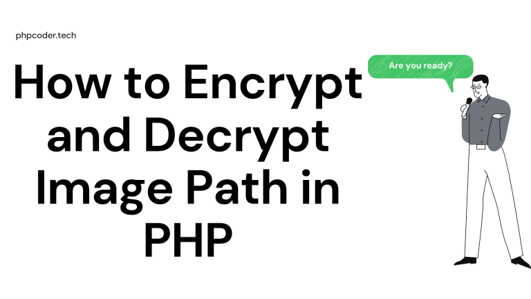 How to Encrypt and Decrypt Image Path in PHP