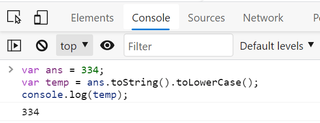 JavaScript toLowerCase Is Not a Function