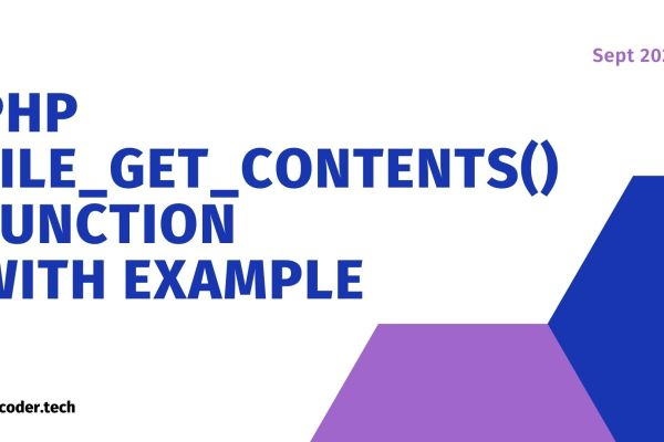 PHP file_get_contents() Function With Example