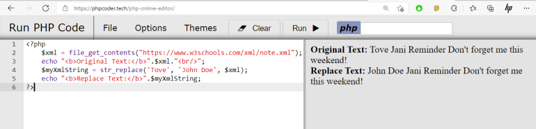 Search and Replace Tag Value in XML