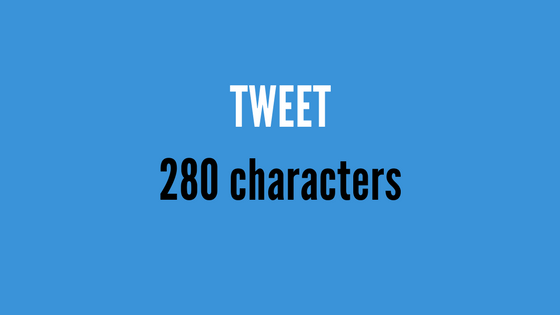 How to tweet in 280 characters