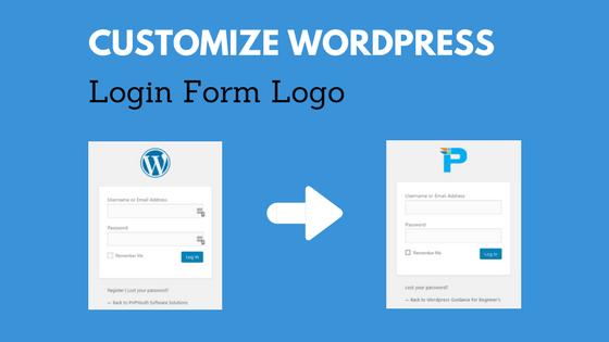 Customize Logo on WordPress Login/Register Page