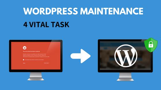 4 Vital Monthly WordPress Maintenance Tasks