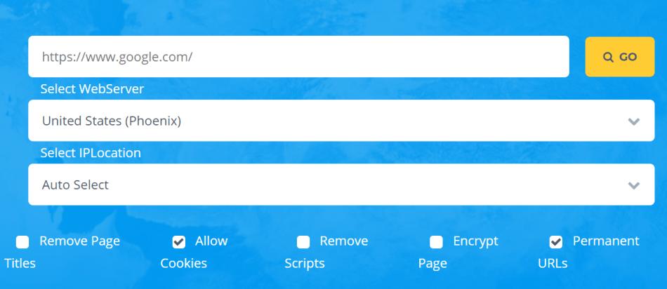 Top 5 Free Proxy Websites 2019 - Surf web anonymously - PhreeSite com