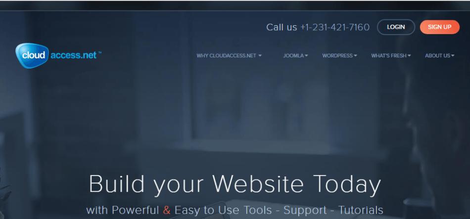 CloudAccess Free WordPress Hosting