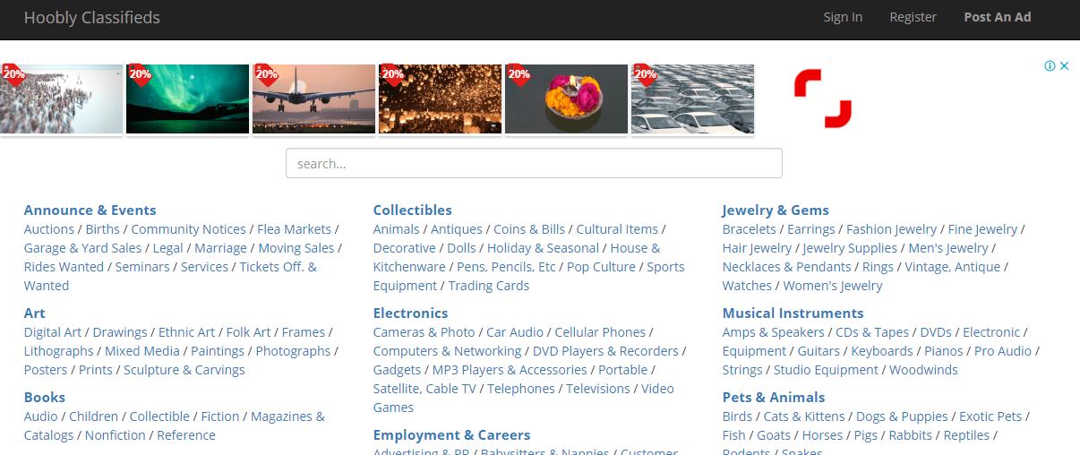 Other sites like craigslist