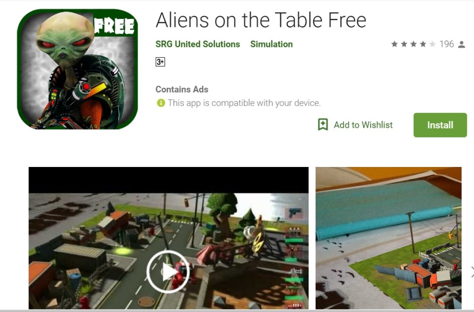 Aliens on the Table