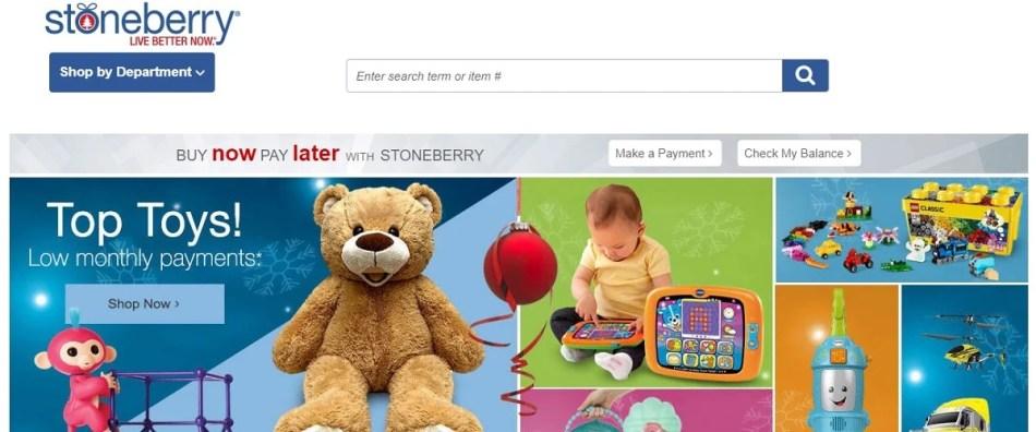 StoneBerry Sites to Fingerhut