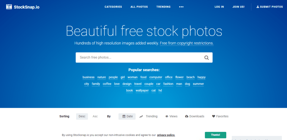 stocksnap gorgeous pictures collection