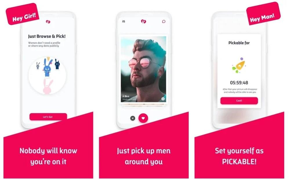 Pickable app