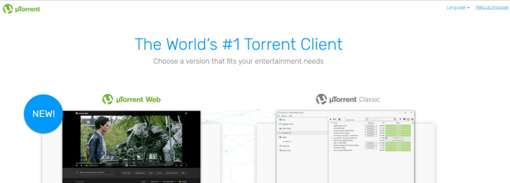 torrent search engine utorrent