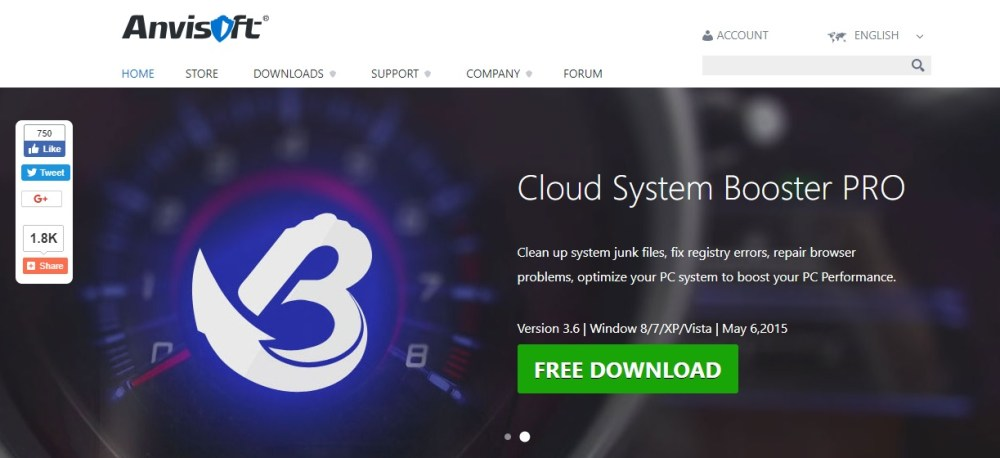 Anvisoft Cloud System Booster