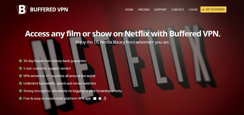 Buffered-vpn-for-bypass-Netflix
