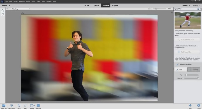 Speed Pan Guided Edit