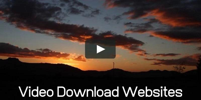 Url Video DownLoad Websites