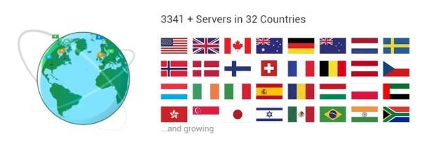 Private Internet Access VPN Server Locations
