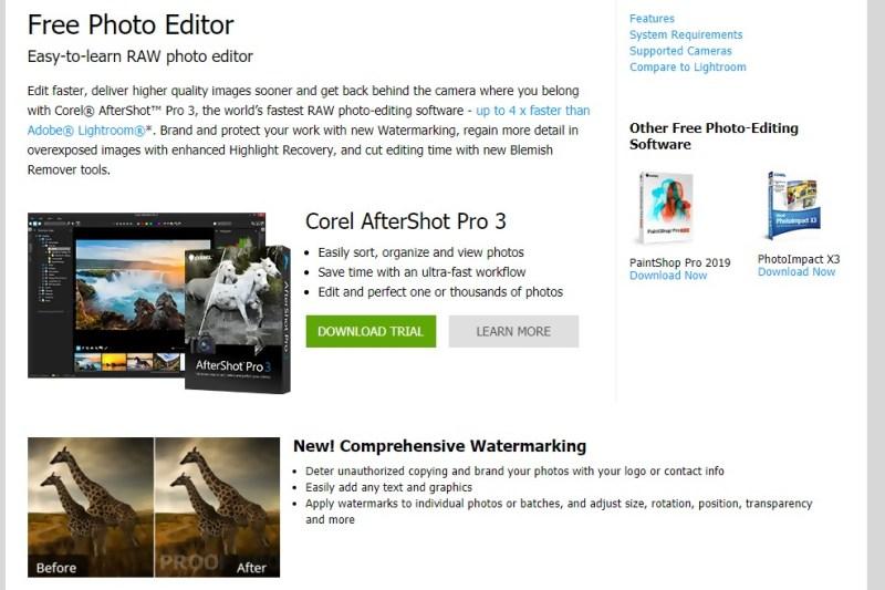 Visit aftershot Website