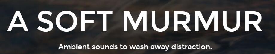 A Soft Murmur for vaping music