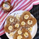 Pumpkin Spice Banana Pancakes (Vegan, Gluten-Free)