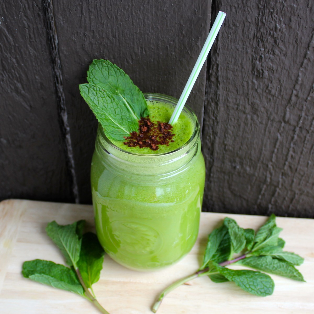 Mint Matcha Mocha Madness Smoothie