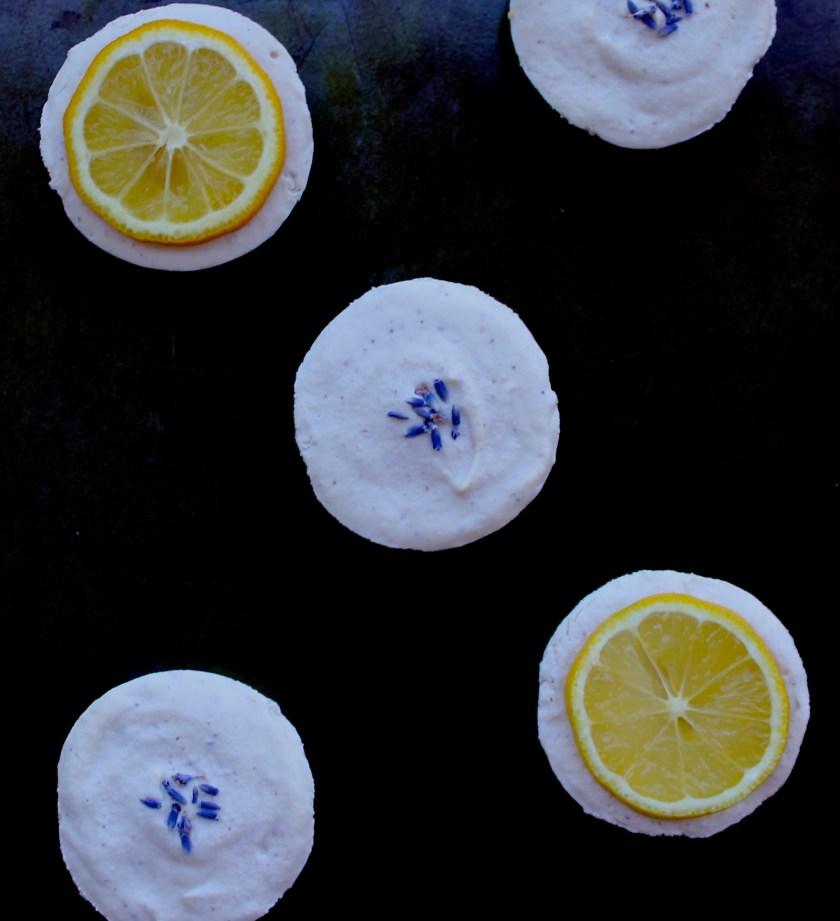 Lemon Lavender Raw Vegan Cheesecake 6