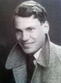 Ernst Frey vor seiner Flucht aus Wien.