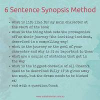 Editing Tip #132 - The Dreaded Synopsis