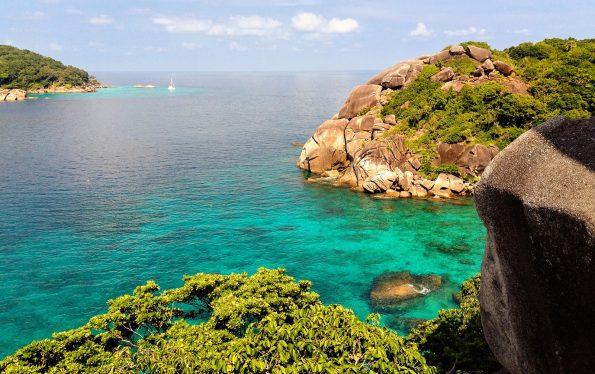 Stunning view on Similan Islands