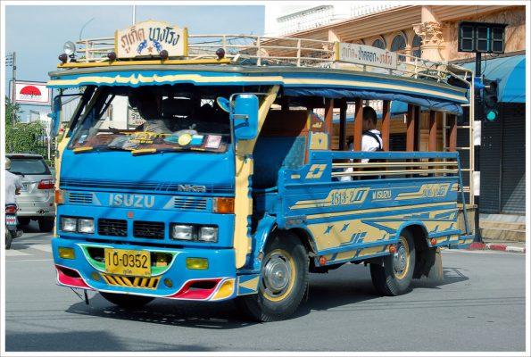 public bus in Phuket town