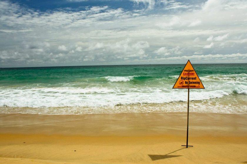 waves on a beach in Phuket