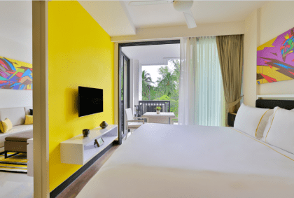 accommodation in the cassia phuket