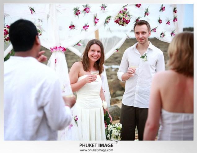 Thailand beach wedding photographer