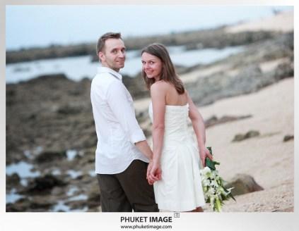 On the beach wedding in Thailand - 037