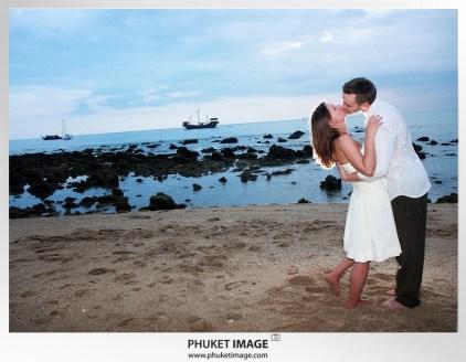 On the beach wedding in Thailand - 041