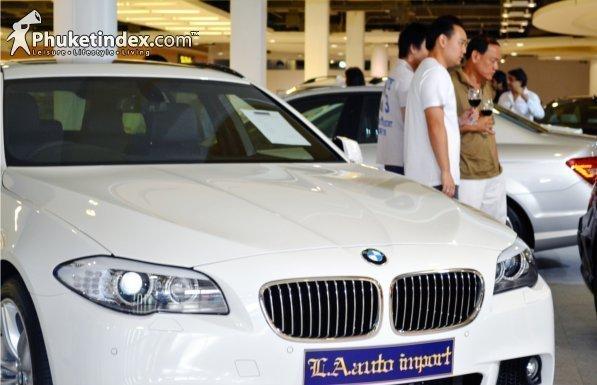 Motor Car Import Show at HomeWorks Phuket