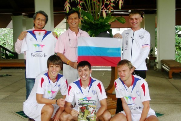 Patong Promenade's main sponsors of The Russia United Football Team