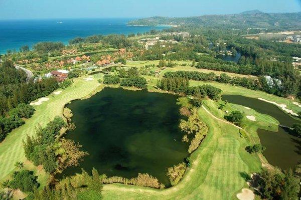 Laguna Phuket Golf Club Greens Renovation 8 - 11 May 2012