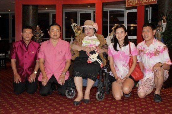 The Royal Paradise Hotel and Spa welcomes H.S.H. Pansawali Kitiyakorn